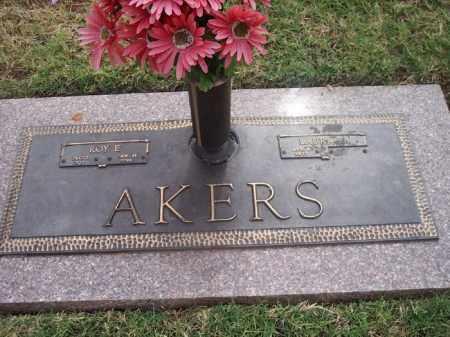 AKERS, ROY E. - Stephens County, Oklahoma | ROY E. AKERS - Oklahoma Gravestone Photos