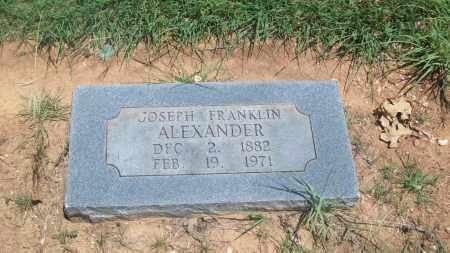 ALEXANDER, JOSEPH F. - Stephens County, Oklahoma   JOSEPH F. ALEXANDER - Oklahoma Gravestone Photos