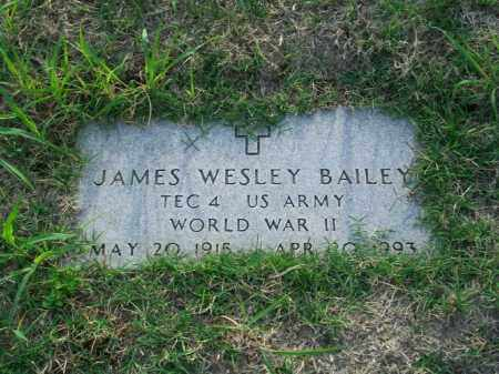 BAILEY, JAMES WESLEY - Stephens County, Oklahoma | JAMES WESLEY BAILEY - Oklahoma Gravestone Photos