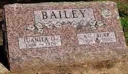 BAILEY, JUANITA O. - Stephens County, Oklahoma | JUANITA O. BAILEY - Oklahoma Gravestone Photos