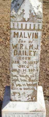 BAILEY, MALVIN - Stephens County, Oklahoma | MALVIN BAILEY - Oklahoma Gravestone Photos