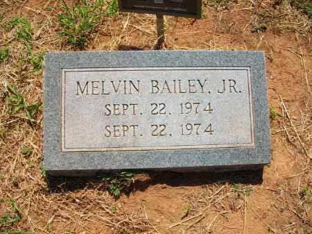 BAILEY, MELVIN JR. - Stephens County, Oklahoma | MELVIN JR. BAILEY - Oklahoma Gravestone Photos