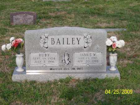 BAILEY, RUBY - Stephens County, Oklahoma | RUBY BAILEY - Oklahoma Gravestone Photos