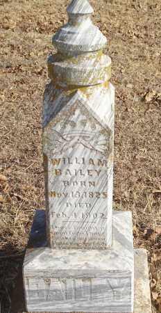 BAILEY, WILLIAM - Stephens County, Oklahoma | WILLIAM BAILEY - Oklahoma Gravestone Photos