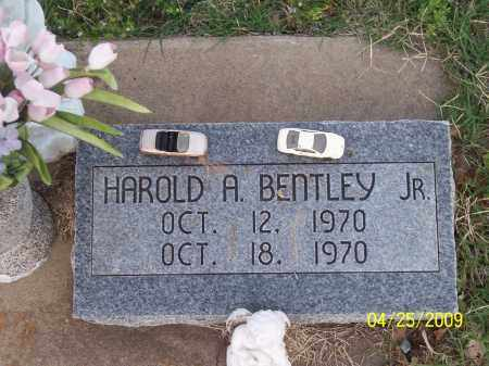 BENTLEY JR., HAROLD A. - Stephens County, Oklahoma | HAROLD A. BENTLEY JR. - Oklahoma Gravestone Photos