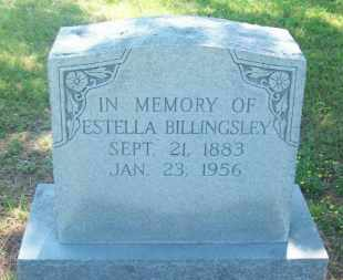 BILLINGSLEY, ESTELLA - Stephens County, Oklahoma | ESTELLA BILLINGSLEY - Oklahoma Gravestone Photos
