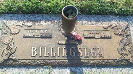 BILLINGSLEY, ERNEST L. - Stephens County, Oklahoma   ERNEST L. BILLINGSLEY - Oklahoma Gravestone Photos