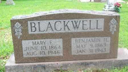 BLACKWELL, MARY E. - Stephens County, Oklahoma | MARY E. BLACKWELL - Oklahoma Gravestone Photos