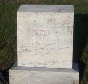BLUMHOFF, FRANK A. - Stephens County, Oklahoma | FRANK A. BLUMHOFF - Oklahoma Gravestone Photos