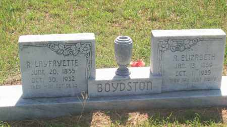 BOYDSTON, R. LAYFAYETTE - Stephens County, Oklahoma | R. LAYFAYETTE BOYDSTON - Oklahoma Gravestone Photos