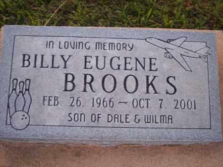 BROOKS, BILLY E. - Stephens County, Oklahoma | BILLY E. BROOKS - Oklahoma Gravestone Photos