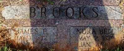BROOKS, NORA BELL - Stephens County, Oklahoma | NORA BELL BROOKS - Oklahoma Gravestone Photos