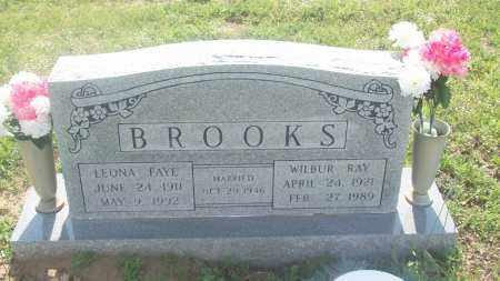 BROOKS, LEONA FAYE - Stephens County, Oklahoma | LEONA FAYE BROOKS - Oklahoma Gravestone Photos