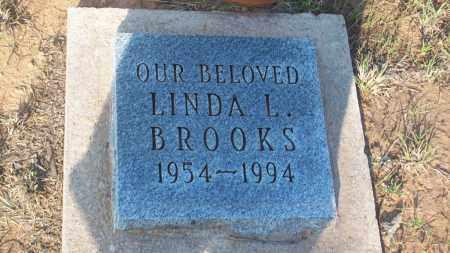 BROOKS, LINDA L. - Stephens County, Oklahoma | LINDA L. BROOKS - Oklahoma Gravestone Photos