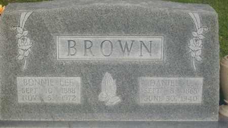 BROWN, DANIEL L. - Stephens County, Oklahoma   DANIEL L. BROWN - Oklahoma Gravestone Photos