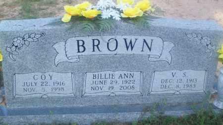 BROWN, BILLIE ANN - Stephens County, Oklahoma | BILLIE ANN BROWN - Oklahoma Gravestone Photos