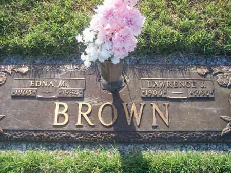 BROWN, EDNA M. - Stephens County, Oklahoma | EDNA M. BROWN - Oklahoma Gravestone Photos
