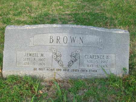 BROWN, JEWELL M. - Stephens County, Oklahoma | JEWELL M. BROWN - Oklahoma Gravestone Photos