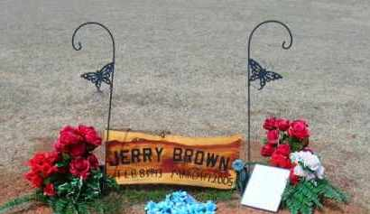BROWN, JERRY - Stephens County, Oklahoma | JERRY BROWN - Oklahoma Gravestone Photos