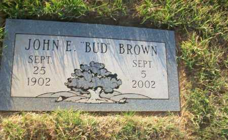 BROWN, JOHN E. - Stephens County, Oklahoma | JOHN E. BROWN - Oklahoma Gravestone Photos