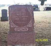 BROWN, KATIE A. - Stephens County, Oklahoma   KATIE A. BROWN - Oklahoma Gravestone Photos
