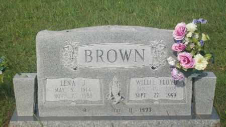 BROWN, WILLIE FLOYD - Stephens County, Oklahoma | WILLIE FLOYD BROWN - Oklahoma Gravestone Photos