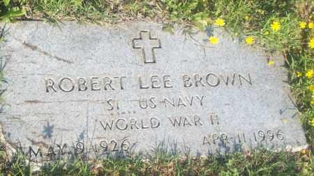 BROWN, ROBERT LEE - Stephens County, Oklahoma   ROBERT LEE BROWN - Oklahoma Gravestone Photos