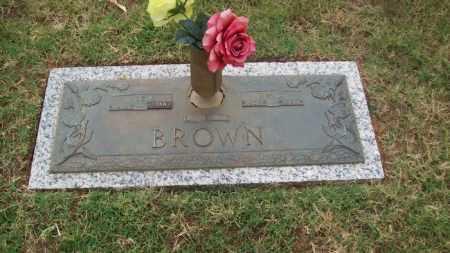 BROWN, INEZ V. - Stephens County, Oklahoma | INEZ V. BROWN - Oklahoma Gravestone Photos