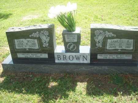 BROWN, VIDA IRENE - Stephens County, Oklahoma | VIDA IRENE BROWN - Oklahoma Gravestone Photos