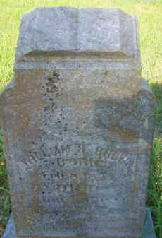 BROWN, WILLIAM H. - Stephens County, Oklahoma | WILLIAM H. BROWN - Oklahoma Gravestone Photos