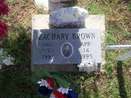 BROWN, ZACHARY - Stephens County, Oklahoma   ZACHARY BROWN - Oklahoma Gravestone Photos