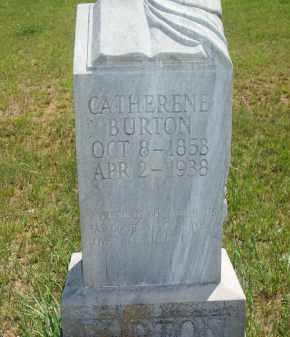 BURTON, CATHERENE - Stephens County, Oklahoma | CATHERENE BURTON - Oklahoma Gravestone Photos