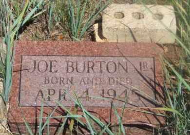 BURTON, JOE JR. - Stephens County, Oklahoma   JOE JR. BURTON - Oklahoma Gravestone Photos