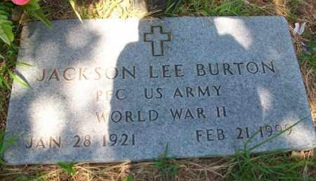 BURTON (VETERAN WWII), JACK LEE - Stephens County, Oklahoma | JACK LEE BURTON (VETERAN WWII) - Oklahoma Gravestone Photos