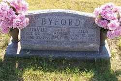 BYFORD, ALDA - Stephens County, Oklahoma   ALDA BYFORD - Oklahoma Gravestone Photos