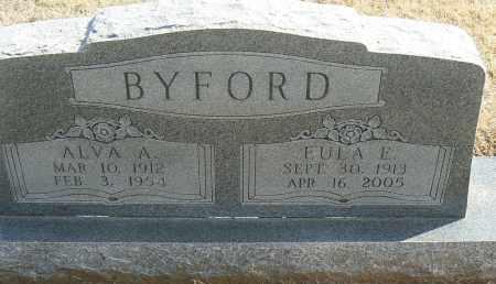 BYFORD, EULAE E. - Stephens County, Oklahoma | EULAE E. BYFORD - Oklahoma Gravestone Photos