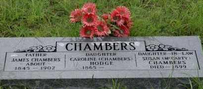 MCCARTY CHAMBERS, SUSAN - Stephens County, Oklahoma | SUSAN MCCARTY CHAMBERS - Oklahoma Gravestone Photos