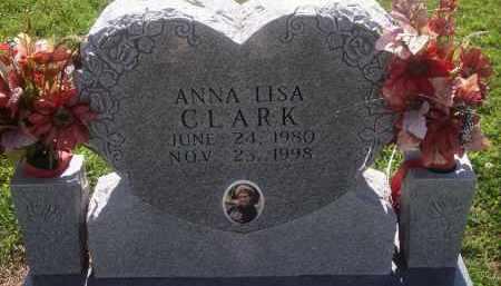 CLARK, ANNA L. - Stephens County, Oklahoma | ANNA L. CLARK - Oklahoma Gravestone Photos