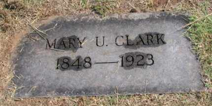 CLARK, MARY UNIT - Stephens County, Oklahoma | MARY UNIT CLARK - Oklahoma Gravestone Photos