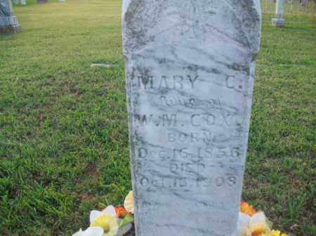 COX, MARY C. - Stephens County, Oklahoma | MARY C. COX - Oklahoma Gravestone Photos
