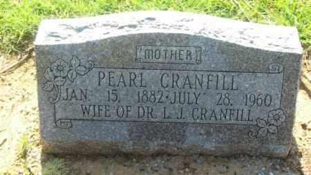 CRANFILL, PEARL - Stephens County, Oklahoma | PEARL CRANFILL - Oklahoma Gravestone Photos