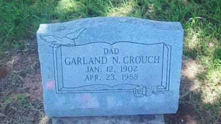 CROUCH, GARLAND N. - Stephens County, Oklahoma | GARLAND N. CROUCH - Oklahoma Gravestone Photos