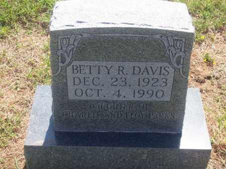 DAVIS, BETTY R. - Stephens County, Oklahoma | BETTY R. DAVIS - Oklahoma Gravestone Photos