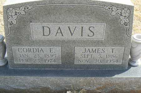 DAVIS, CORDIA EDITH - Stephens County, Oklahoma | CORDIA EDITH DAVIS - Oklahoma Gravestone Photos