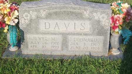 DAVIS, JEWEL M. - Stephens County, Oklahoma | JEWEL M. DAVIS - Oklahoma Gravestone Photos
