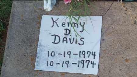 DAVIS, KENNY D. - Stephens County, Oklahoma | KENNY D. DAVIS - Oklahoma Gravestone Photos