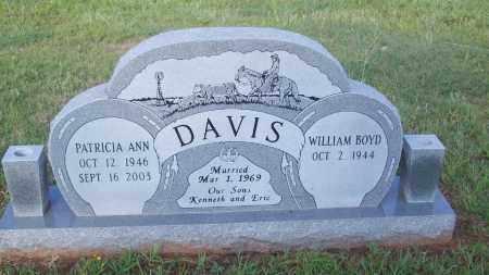 DAVIS, WILLIAM BOYD - Stephens County, Oklahoma | WILLIAM BOYD DAVIS - Oklahoma Gravestone Photos