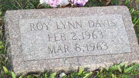 DAVIS, ROY LYNN - Stephens County, Oklahoma | ROY LYNN DAVIS - Oklahoma Gravestone Photos