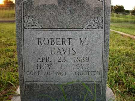 DAVIS, ROBERT M. - Stephens County, Oklahoma   ROBERT M. DAVIS - Oklahoma Gravestone Photos