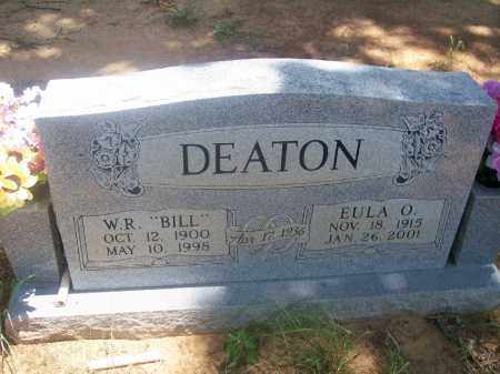 DEATON, EULA O. - Stephens County, Oklahoma | EULA O. DEATON - Oklahoma Gravestone Photos